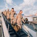 Подразделение последнего эстонского контингента в Афганистане вернулось домой