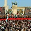 Ungari poliitikud kasutasid 1956. aasta ülestõusu aastapäeva kihutuskõnedeks teineteise vastu