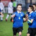 Eesti võiduvärava Prantsusmaa vastu lõi meeskonna kapten Sander Alex Liit