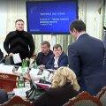 VIDEO: Saakašvili ja Ukraina siseminister Avakov kukkusid reforminõukogu istungil sõimlema, lendas ka veeklaas