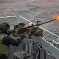 ВМС Великобритании и стран Балтии проводят совместную операцию в Балтийском море
