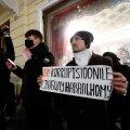 FOTOD | Navalnõi toetuseks toimus Venemaa saatkonna ees meeleavaldus