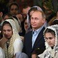Peskov selgitas Putini plaasterdatud sõrme: lõikas sisse, nagu igaüks võib