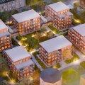 ФОТО | Новые дома вместо старого заводского здания: смотрите, какой шикарный жилой квартал появится в Пыхья-Таллинне