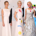 Lauren Villmann, Annikky Lamp ja Kristiina Ehin. Kliki pilti, et näha kleite täispikkuses!