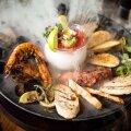 ВИДЕО | В одном из ресторанов Таллинна морепродукты подают в облаке дыма