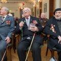 ФОТО DELFI: В Таллинне прошло первое мероприятие в преддверии 70–летия победы в Великой Отечественной войне