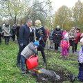 В петрозаводском парке имени 50-летия Пионерской организации появилась Аллея Нарвы