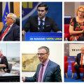 Kuus praegust Eesti eurosaadikut.