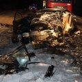 FOTOD SÜNDMUSKOHALT: Jõgevamaal hukkus autode kokkupõrkes 60-aastane mees