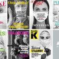 Armastatud Eesti ajakirjad avaldavad mustvalgete esikaantega toetust kõikidele tervishoiutöötajatele