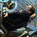 Elon Musk on kosmosesüstikus: Kui SpaceX hakkab lennutama astronaute, siis just niisugune näeb välja piloodikabiin.