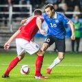 Sergei Zenjov mängus Inglismaaga