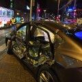 Smilersi tramm sattus reede varahommikul liiklusõnnetusse