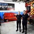 Pariisi tuletõrjujad Myriam Chudzinski ja Jérôme Demay, kes saabusid esimesena Jumalaema kiriku juurde