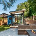 FOTOD │ Pisike, kuid nutikas aiamaja, kus on mugav külalisi võõrustada