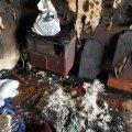 Пламенный привет от соседей! Квартира пенсионеров полностью выгорела из-за попавшего в окно окурка