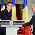 Victor Ponta ja Traian Băsescu