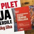 Võitja selgunud, Ruja nädala küsimus: võida piletid ja 3 kg Maks&Moorits liha!
