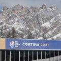 Celebrities attend Cortina 2021: FIS Alpine World Ski Championships 2021