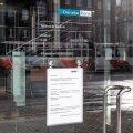 Ainuke Eestisse alles jäänud Danske panga kontor on täna Tallinnas suletud.