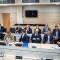 RAHVAROHKE ÜRITUS: Hetk Tallinna Sadama kohtuprotsessilt 2019. aasta mais.