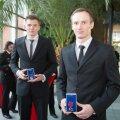 Elupäästja III klassi medaliga tunnustatud Raul ja Priit Lehismets