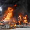 VIDEO | Plahvatuse räsitud Beiruti sadamas puhkes nüüd tulekahju