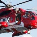 Iirimaast läänes kadus rannikuvalve helikopter
