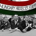 Viktor Orbáni toetajate demonstratsioon Ungaris tänavu kevadel.