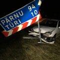 Puruks sõidetud Peugeot 206