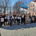 """""""Хватит! Сколько можно!?"""" 14 сентября пройдет митинг против правительства в парке Хирве"""