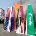 Iraani pealinnas Teheranis põletatakse koos nii USA, Iisraeli kui Saudi Araabia sümboolikat.