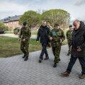 Kaitseminister Jüri Luik ja kaitseväe juhataja Martin Herem külastasid Kevadtormi.