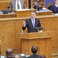 Речь Рыйваса в Рийгикогу - определены главные вызовы, дано название коалиции