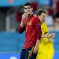 Alvaro Morata avamängus Rootsi vastu.