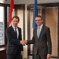 Mikser kohtub Austria välisministriga