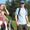 Orienteerumist nauditi terve perega. Fotod: Eduard Pukkonen ja erakogu