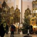 Narvas peeti õigeusu jõulude jumalateenistus
