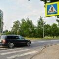 Avariipaik Viljandis. Linnavalitsusest öeldakse, et pelgalt ülekäiguraja nihutamine soovitud tulemust ei annaks.