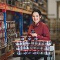 Rõngu Mahla tootearendusjuht Lissi Laiduner on üks suhkruvaba Külluse mustikamoosi väljatöötajaid.