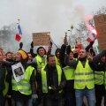 """Juba kümnendat nädalat tänavatel: """"kollaste vestide"""" protestidel ei näi lõppu"""