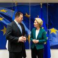 Ратас поговорил с президентом Еврокомиссии о зеленой инициативе и цифровой революции