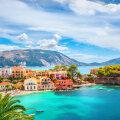 Asose küla Kefaloonia saarel Kreekas
