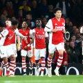 Londoni Arsenali mängijad.