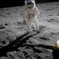 Astronaut Edwin Aldrin Kuul. Ülesvõtte tegi Neil Armstrong.