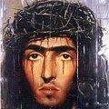 """LUNASTAJA tänapäeva kunstniku pilgu läbi: Laurentius """"Jeesus (piinatud versioon) - Hommage á Pierre & Gilles"""", 2000, õli lõuendil, segatehnika. Repro"""