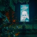 FOTO | Viljandlasi hirmutab tulnukareklaam. Reklaamibüroo: tahame tähelepanu püüda muidu märkamatuks jäävale reklaamtahvlile