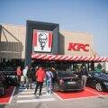 ГАЛЕРЕЯ | Открытие первого ресторана KFC в Тарту сегодня едва не сорвалось