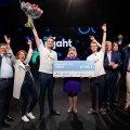"""На конкурсе бизнес-идей """"Охота за умами"""" рекордная сумма выигрыша — 140 000 евро"""